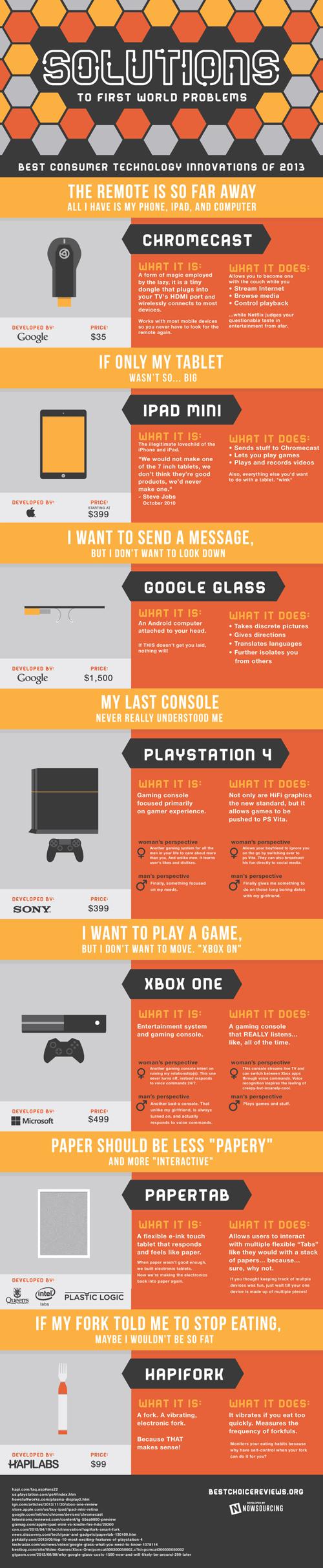 2013-tüketici elektroniği infografiği