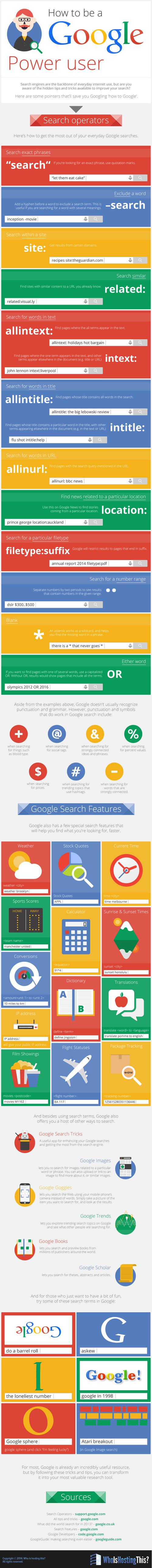 nasıl daha iyi google kullanıcısı olunur