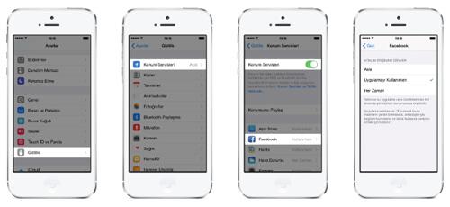 facebook iOS 8 güncellemesi_