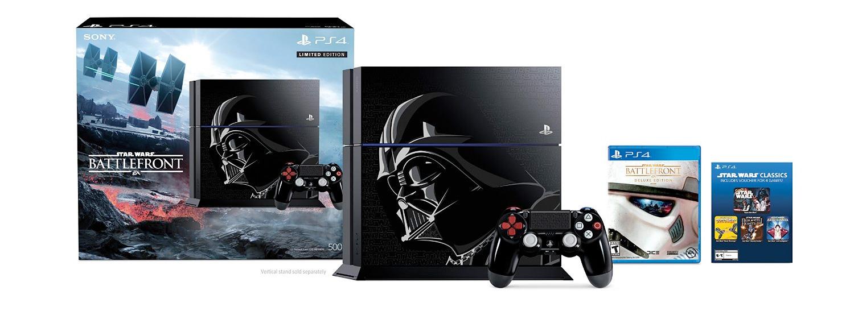 Special-Edition Star Wars PlayStation 4