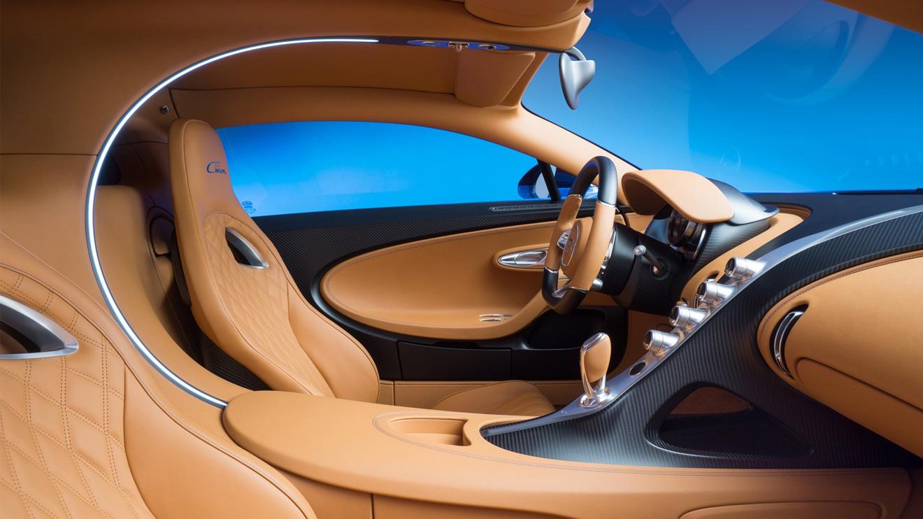 2.4 milyon Euro'luk efsane Bugatti Chiron