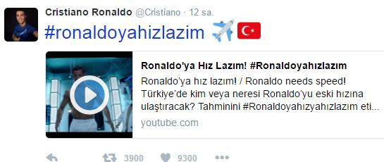 ronaldo türkiye ronaldoyahızlazım